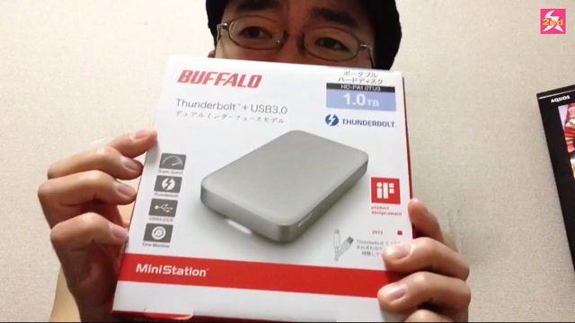 ThunderboltのHDDとモブサイコ100(2)