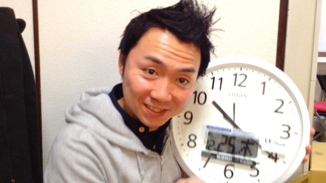 2014年一番のお気に入り「プログラムチャイム付き時計」まじイイっす!