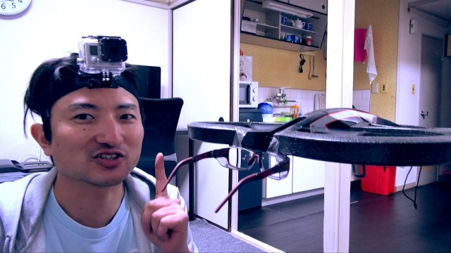 AR.Drone2.0メガネというメガネ