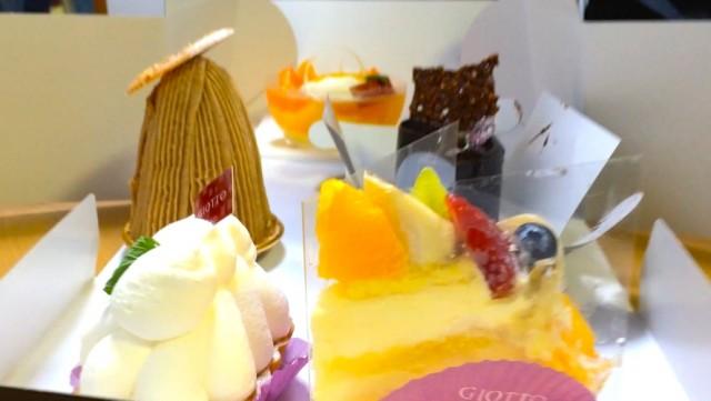 アリピノ子とケーキ