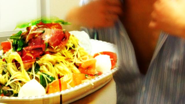 【深夜閲覧推奨】セクシーシェフの生ハムパスタ【深夜食堂3.0】