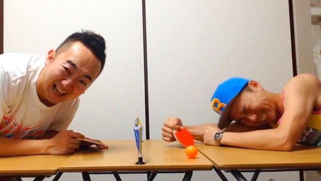 【サプライズ動画】超安い!!200円の卓球セットプレゼント!!