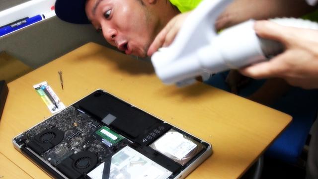 Macbookproバッテリー交換の試練